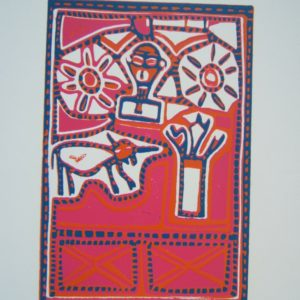 lino cut, South Africa, contemporary, Joao