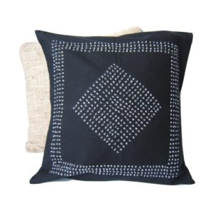 cushion cover, Namibia, Onyoka beads, hand stitched