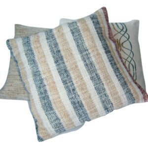 cushion covers, Kalahari, Wild Silk, stripes, natural dyes, Namibia